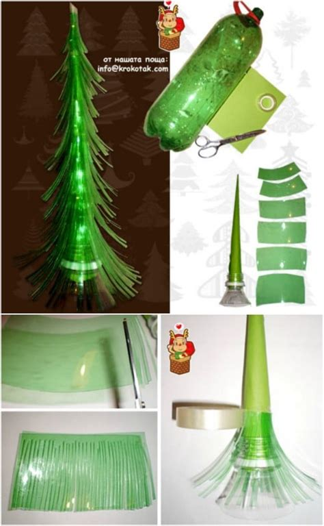 genius diy recycled  repurposed christmas crafts