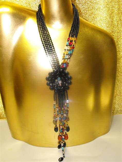 joan rivers starlet style  necklace classic
