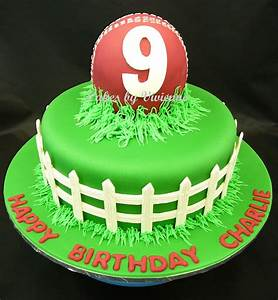 Cricket Birthday Cake - CakeCentral com