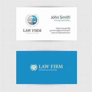 Business card design custom business card card design for Law firm business card