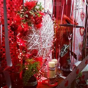 Vitrine Saint Valentin : ma tre artisan fleuriste vitrine saint valentin 2016 ~ Louise-bijoux.com Idées de Décoration