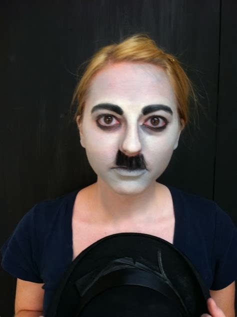 Stage Makeup Morgue Charlie Chaplin