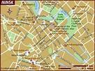 Map of Minsk