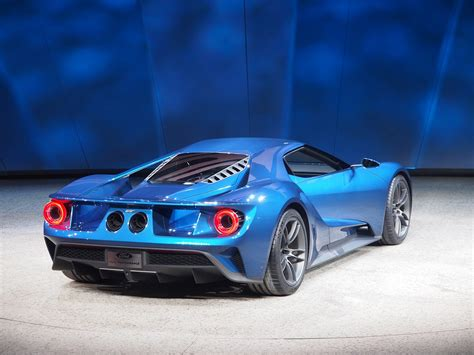 New Ford Supercar by All New Ford Gt Supercar Arrives In 2016 With More Than 600hp