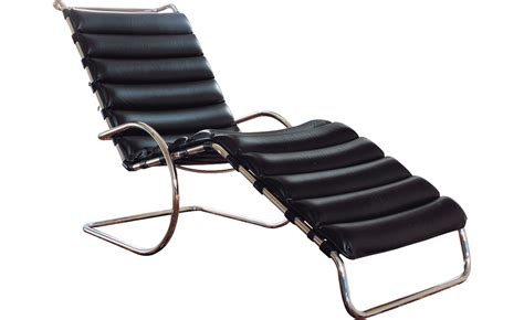 chaise der rohe mr adjustable chaise lounge hivemodern com