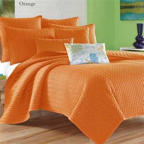 Colorful Coverlets by Camdyn Bright Solid Color Quilted Coverlet From J By J