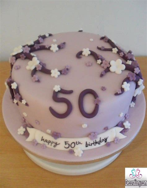 13 Impressive 50th Birthday Cakes Designs Birthday
