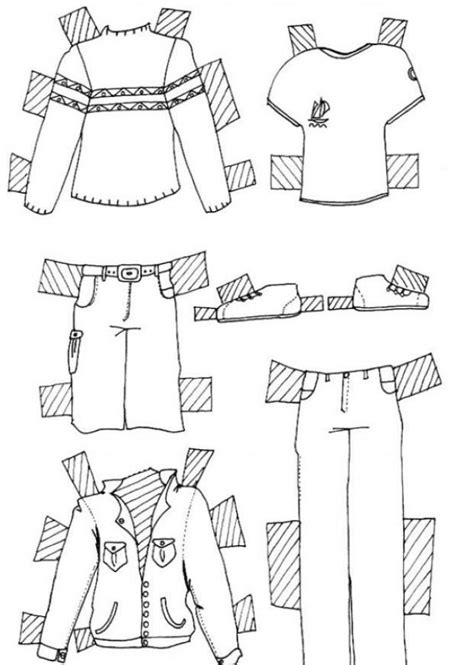 Coloring Clothes by Clothes For Model Coloring Pages Hellokids
