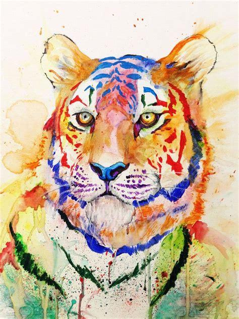 watercolor painting on plexiglass http reddit com r comments 157350 color safari