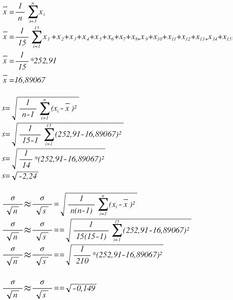 Aktivität Berechnen Beispiel : messreihe mit standardabweichung berechnen mathelounge ~ Themetempest.com Abrechnung