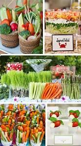 mil capas de tul summer wedding ideas party food With summer wedding food ideas