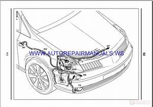 Renault Vel Satis X73 Nt8176a Disk Wiring Diagrams Manual