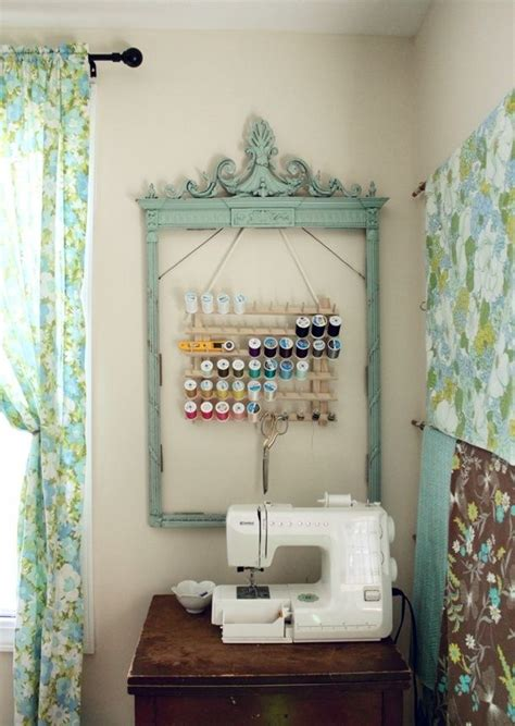 Cute Sewing Room!  Craft Roomshome Offices Pinterest