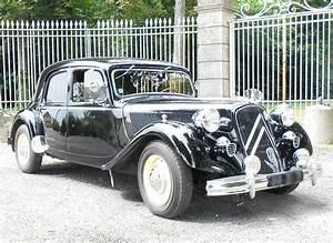 Citroen Roissy En Brie : louer une citro n traction 15 six h de 1954 photo 1 ~ Gottalentnigeria.com Avis de Voitures