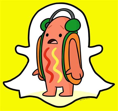 Snapchat Hotdog Meme Fanart Dancing Hot Dog Snapchat Filter Know Your Meme