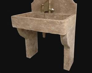 Evier exterieur en pierre 4 jambages pour viers ou vasque for Evier en pierre pour exterieur