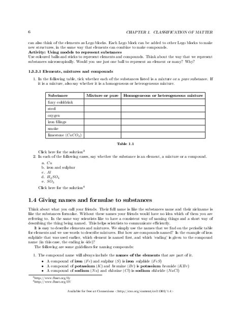 28 chemistry worksheets for grade 10 igcse all