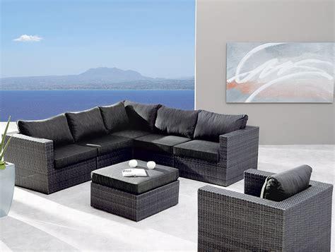 lounge set polyrattan best 7 tlg lounge set aruba alu polyrattan 98897053
