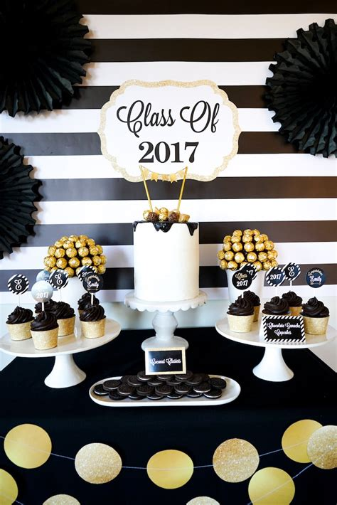 """Kara's Party Ideas """"be Bold"""" Black & Gold Graduation Party. Costco Dining Room Table. Formal Dining Room Ideas. Wall Decor For Master Bedroom. Decorative Aluminum Sheets. Decorative Cork Boards. Screen Room Kit. Room Heaters Electric. Staircase Wall Decorating Ideas"""
