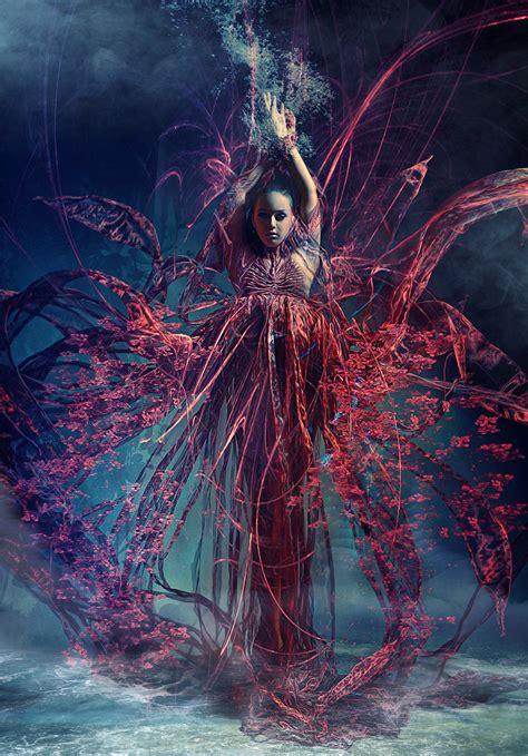 dark fantasy photography art  stefan gesell