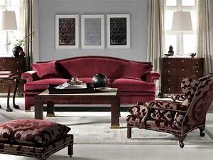 Maroon and gray living room decorating ideas burgundy for Decorating maroon leather couches