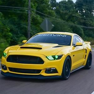 Cervini Stalker Hood | 2015-17 Mustang - LMR.com