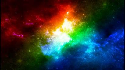 Rainbow Crayon Background Wallpapers Colorful Galaxy Space