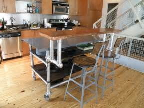 how to build a kitchen island cart 12 diy kitchen island designs ideas home and gardening ideas