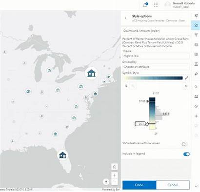 Map Beta Viewer Symbols Using
