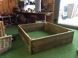 Carre De Jardin Potager : carr potager guillotine 100x100 hauteur 26cm carr potager ~ Premium-room.com Idées de Décoration