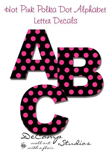 polka dot alphabet letters images 9 best images of polka dot letters printable printable 21987