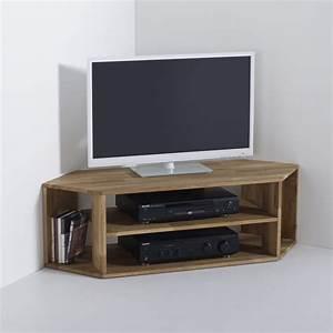 Meuble De Tele D Angle : meuble d angle pour tele meuble tv a suspendre maisonjoffrois ~ Nature-et-papiers.com Idées de Décoration
