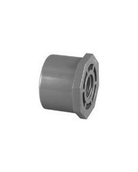 PVC Schedule 80 Spigot x Thread Bushings - Schedule 80 PVC