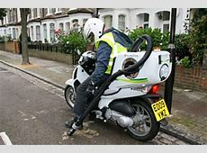 125cc Honda Scooter Is London's Street Washing Machine
