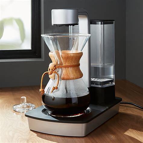 chemex ottomatic coffee maker crate  barrel