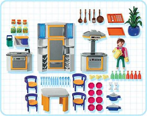 cuisine playmobil 5329 playmobil set 3968 kitchen klickypedia
