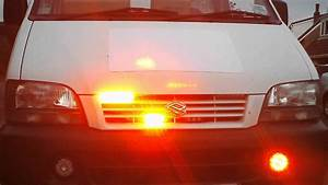 Customer Vehicle Showing Wig Wag Amber Drls  6 Led Grille
