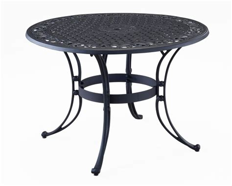 home styles 48 inch dining table black finish the