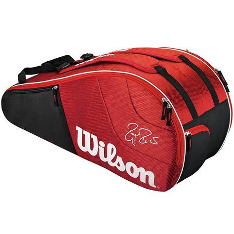 wilson federer team  pack tennis bag