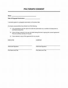 Polygraph Consent - Template & Sample Form | Biztree.com