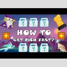 Growtopia L How To Get Rich Fast! 9 Dls In 1 Day! Youtube