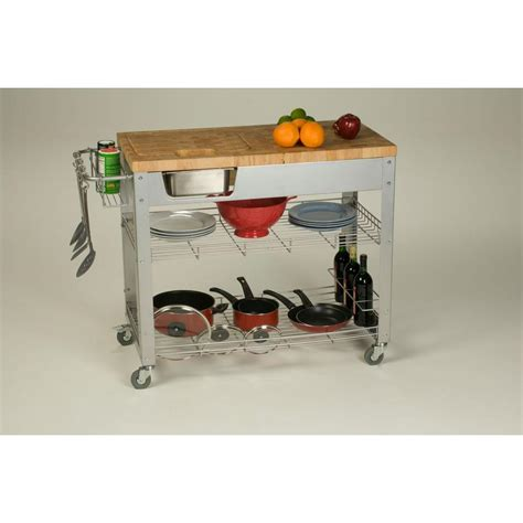 kitchen carts with storage chris chris stadium kitchen cart with storage 6506