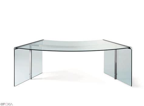 bureau en verre but bureau en verre président par gallotti et radice epoxia