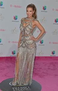 THALIA at 29th Premio Lo Nuestro Ltin Music Awards in ...