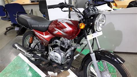 Bajaj Ct100 Modified Bike Images by All New 2016 Bajaj Ct 100b Snapped At A Dealership In