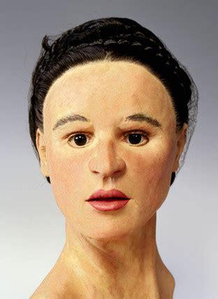 reconstructed roman female head  caroline wilkinson