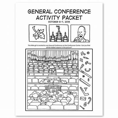 Conference General Activity Coloring Packets October Packet