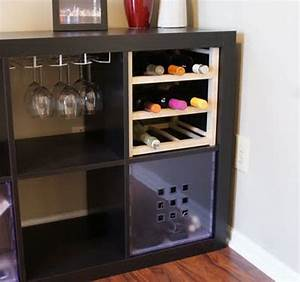 Bar Meuble Ikea : 25 ikea kallax or expedit shelf hacks hative ~ Teatrodelosmanantiales.com Idées de Décoration