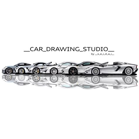 Lotus Elise Car Drawing Studio
