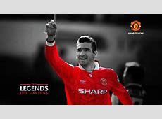 Eric CantonaRed LegendsManchester United wallpaper